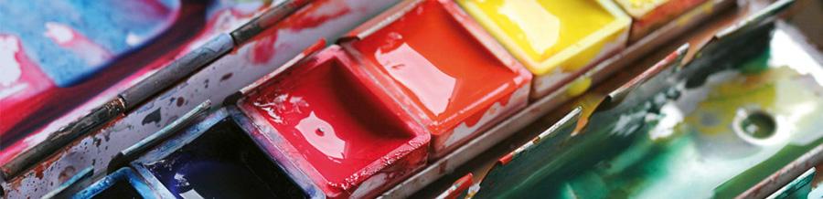 Акварельные краски в наборах