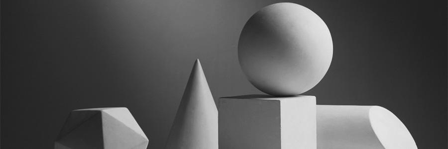 Геометрические фигуры из гипса