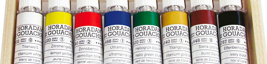 Гуашевые краски в наборах