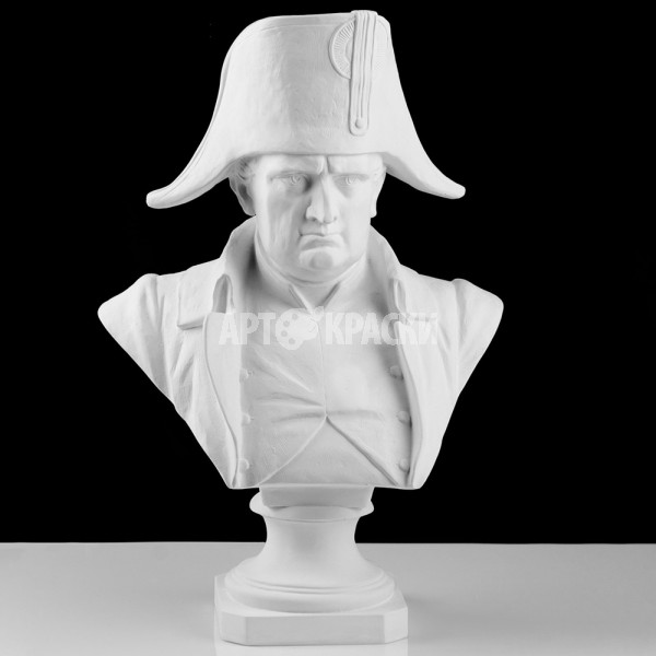 Бюст Наполеона из гипса