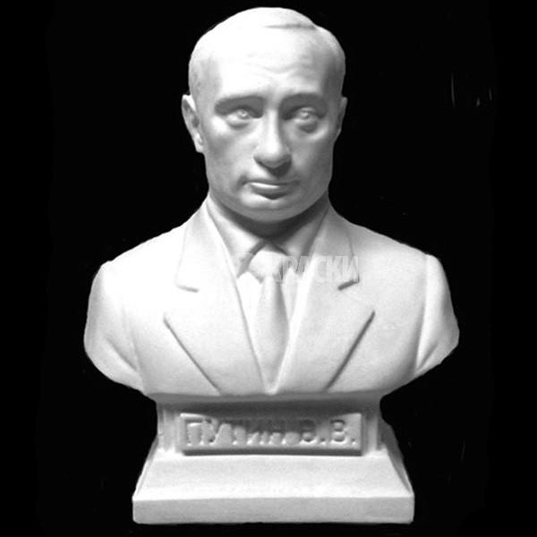Бюст Путина из гипса