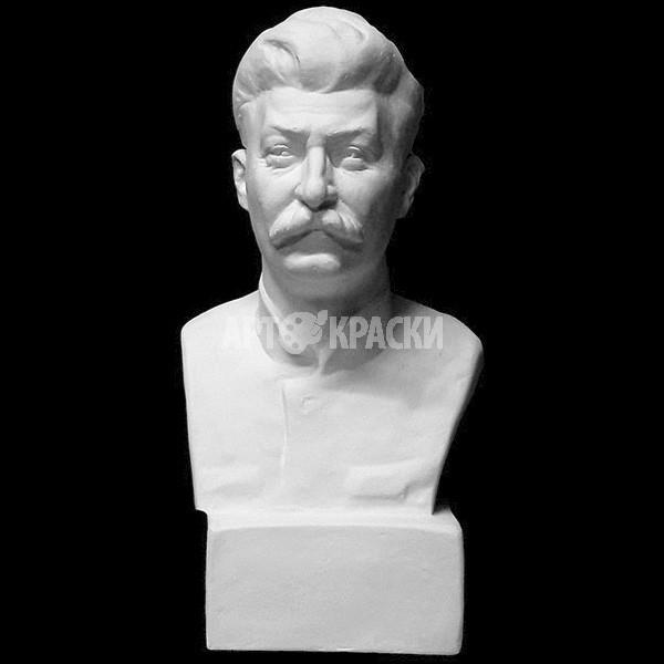 Бюст Сталина из гипса