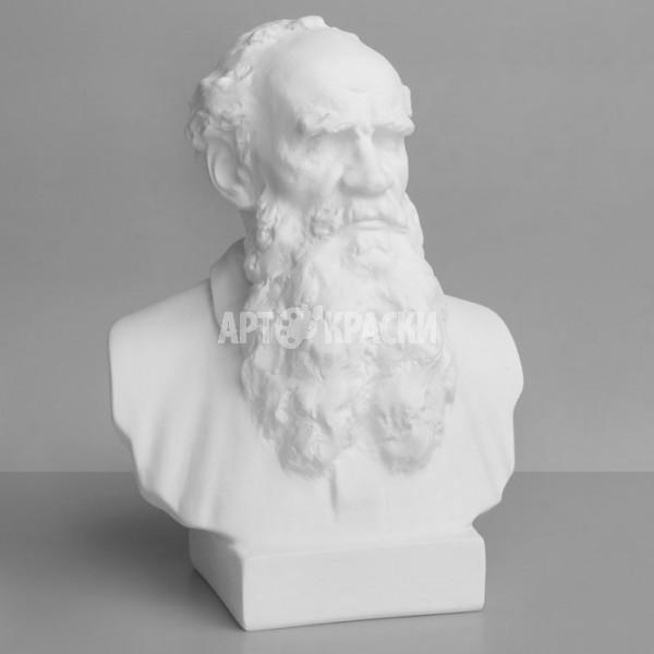 Бюст Толстого из гипса
