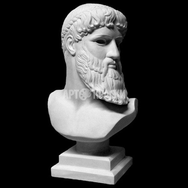 Бюст Зевса - Посейдона из гипса