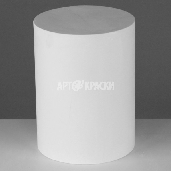 Цилиндр из гипса