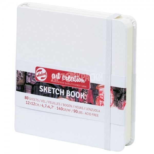 """Cкетчбук для рисования Royal Talens """"Art Creation"""" белый 12х12 см 80 листов"""