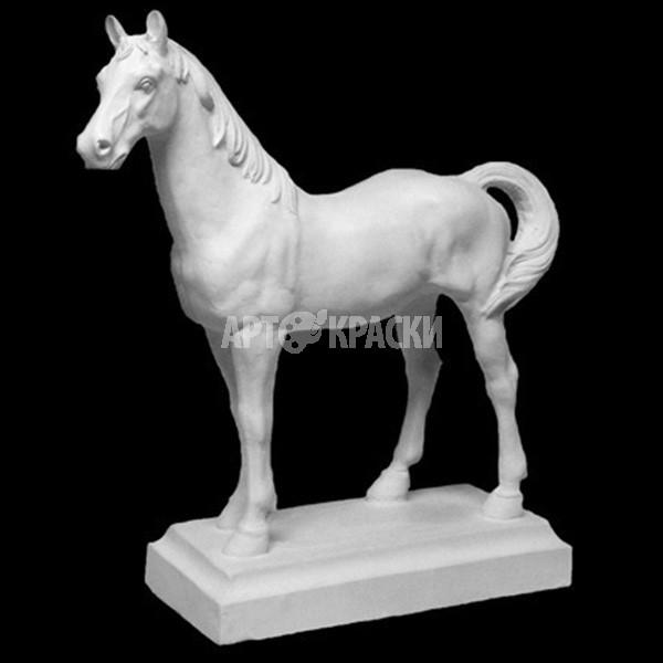 Фигура лошади из гипса