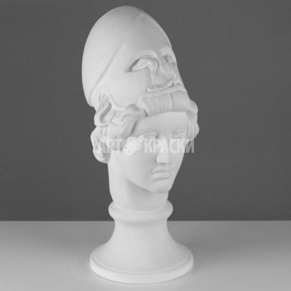 Голова Афины Мирона из гипса