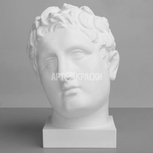 Голова Апоксиомена из гипса