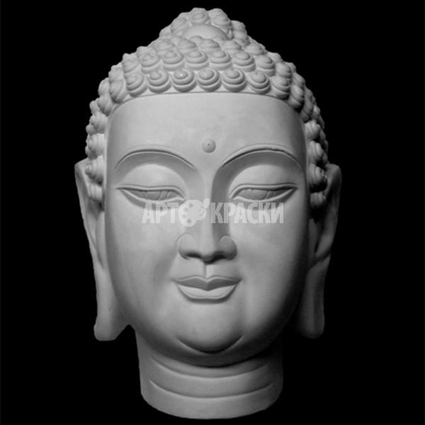 Голова Будды из гипса