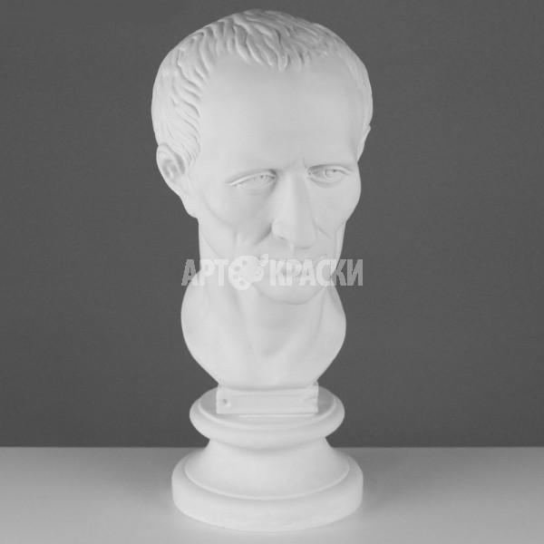 Голова Цезаря из гипса