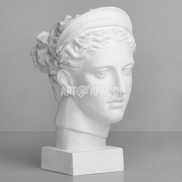 Голова Дианы из гипса