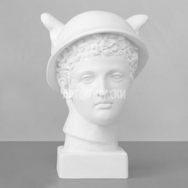 Голова Меркурия из гипса