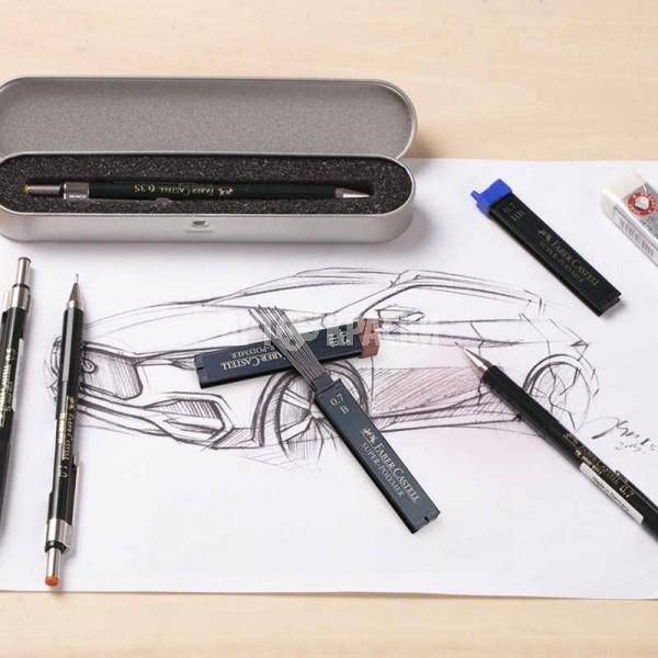 """Грифели для механических карандашей 0.7 мм Faber-Castell """"Super-Polymer"""" 12 шт"""