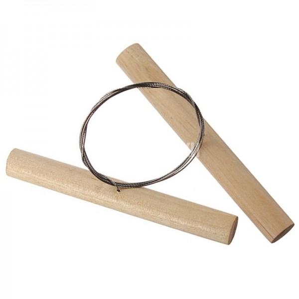 Инструмент нить для резки глины и пластилина