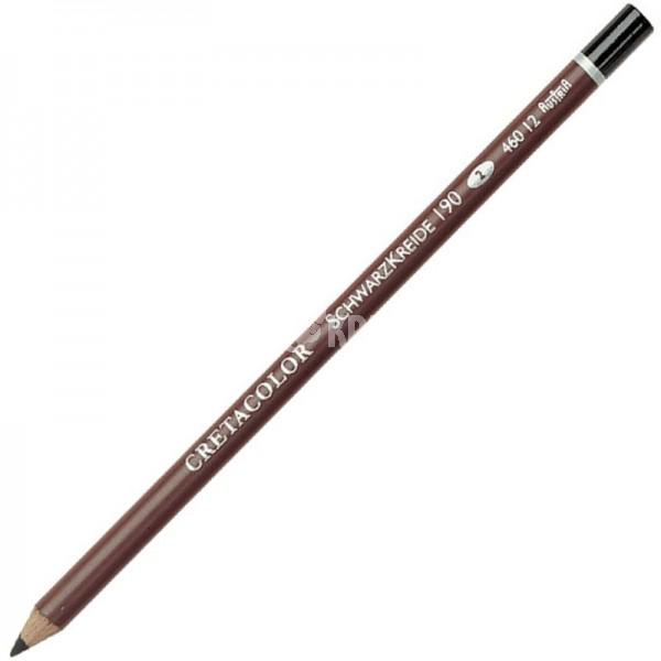 """Карандаш черный мел Cretacolor """"Black Chalk""""  (итальянский карандаш)"""