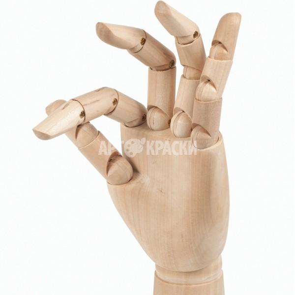 "Манекен для рисования рука мужская левая ""BRAUBERG"" 30 см"