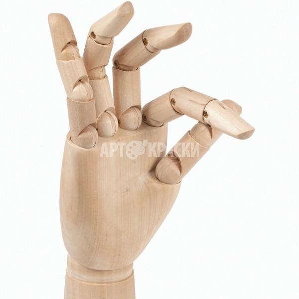 "Манекен для рисования рука мужская правая ""BRAUBERG"" 30 см"