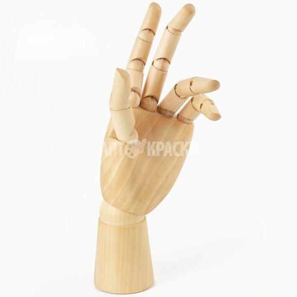 """Манекен для рисования рука женская левая """"BRAUBERG"""" 25 см"""