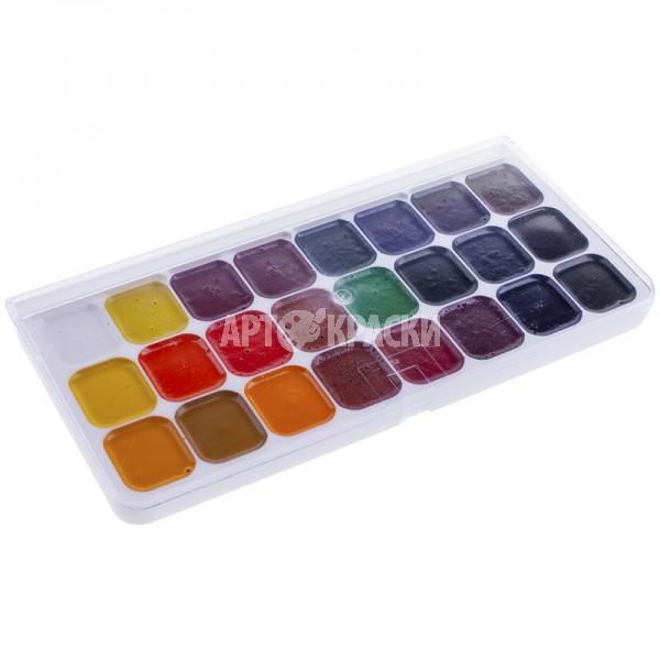 """Набор акварельных красок """"Люкс"""" 24 цвета"""