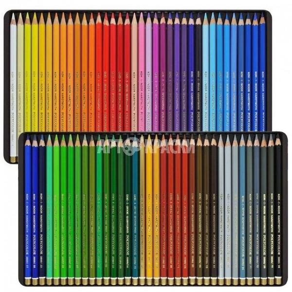 """Набор цветных карандашей Koh-i-Noor """"Polycolor"""" 72 цвета в пенале"""
