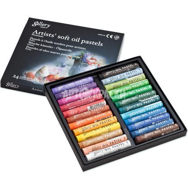 Набор масляной пастели Mungyo Artists Gallery Soft Oil Pastels 24 цвета