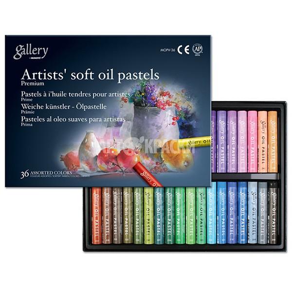 Набор масляной пастели Mungyo Artists Gallery Soft Oil Pastels 36 цветов