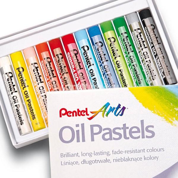Набор масляной пастели Pentel Arts Oil Pastels 12 цветов