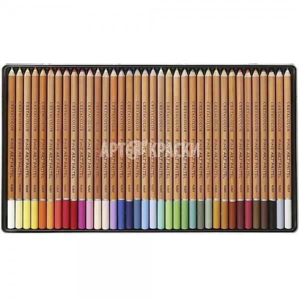 """Набор пастельных карандашей Cretacolor """"FINE ART PASTEL"""" 36 цветов в пенале"""