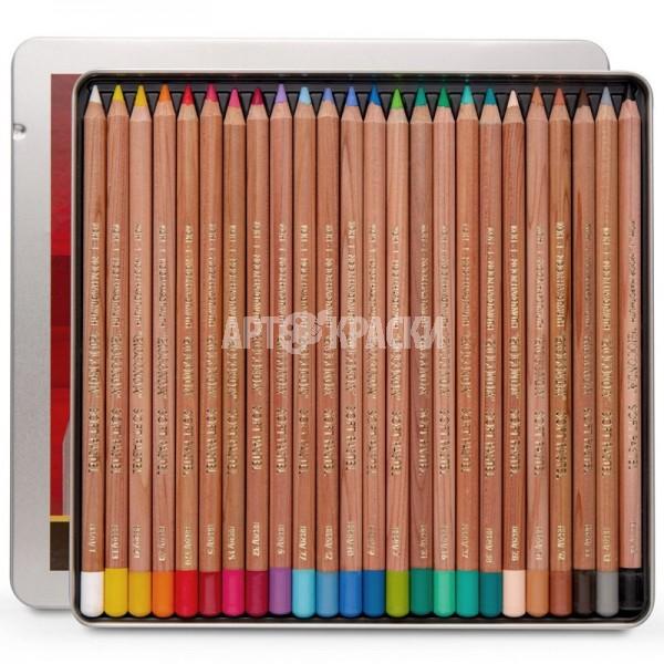 """Набор пастельных карандашей Koh-I-Noor """"Gioconda"""" 24 цвета в пенале"""