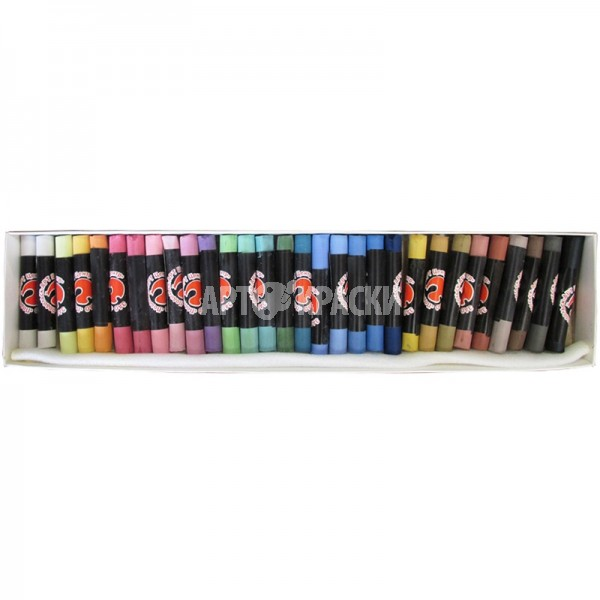 Набор сухой пастели «Подольск Арт-Центр» 30 цветов в картонной коробке
