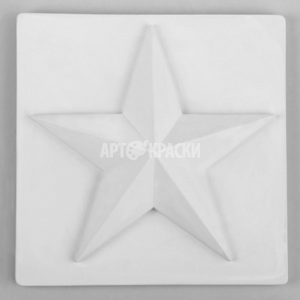 Орнамент Звезда из гипса