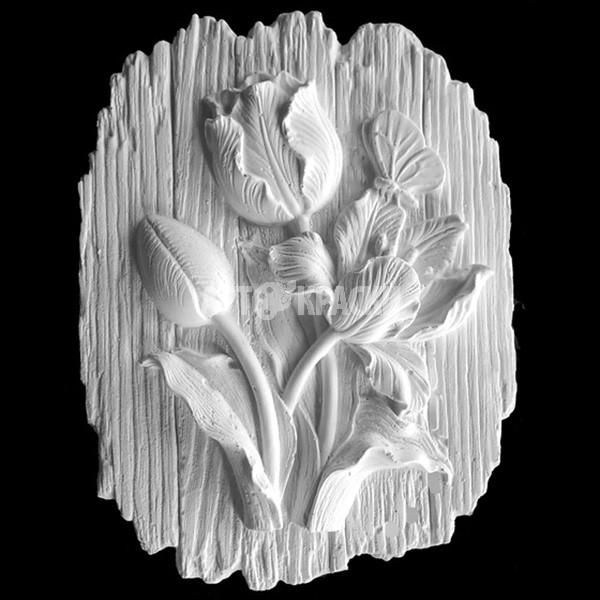 Основа для росписи «Тюльпаны» из гипса