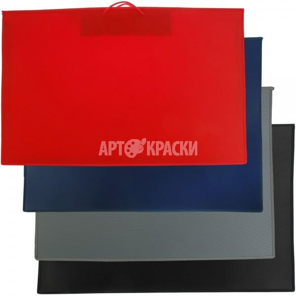 """Папки художника для рисунков и чертежей А1 """"Оникс"""" по цветам"""