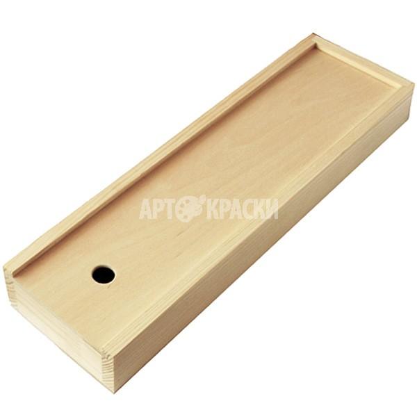 Пенал для кистей деревянный 380*95*42 мм