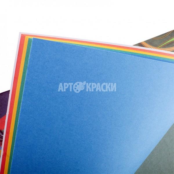 """Планшет цветного картона А3 """"Калейдоскоп"""" 20 листов 4 цвета"""
