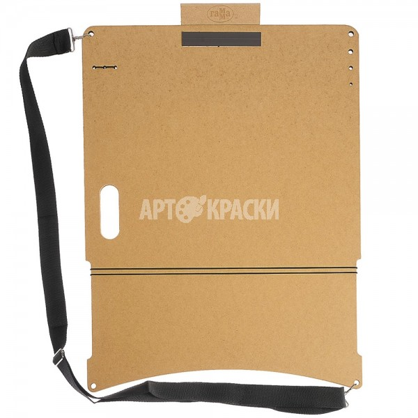 """Планшет для рисунка А2 Гамма """"Московская палитра"""" с магнитным зажимом и ручкой"""