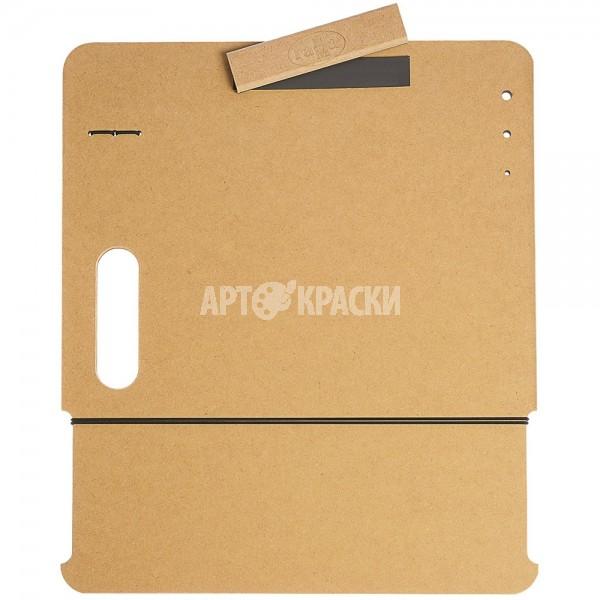 """Планшет для рисунка А3 Гамма """"Московская палитра"""" с магнитным зажимом и ручкой"""