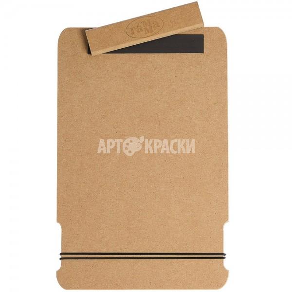 """Планшет для рисунка А4 Гамма """"Московская палитра"""" с магнитным зажимом"""