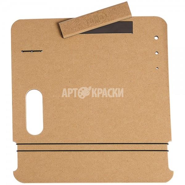 """Планшет для рисунка А4 Гамма """"Московская палитра"""" с магнитным зажимом и ручкой"""