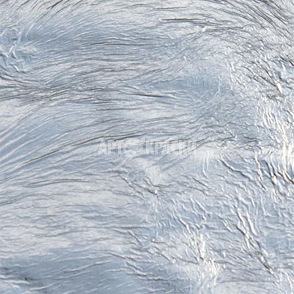 Поталь имитация серебра Nazionale в рулоне 10 мм на 25 метров