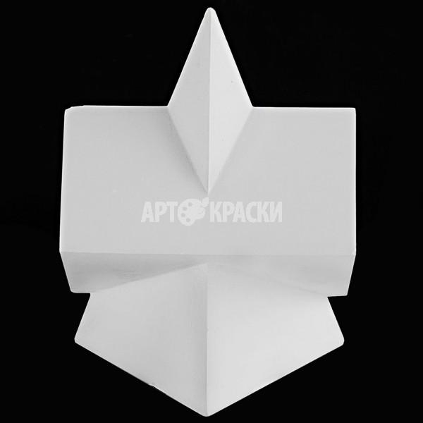 Сечение параллелепипеда в пирамиде из гипса
