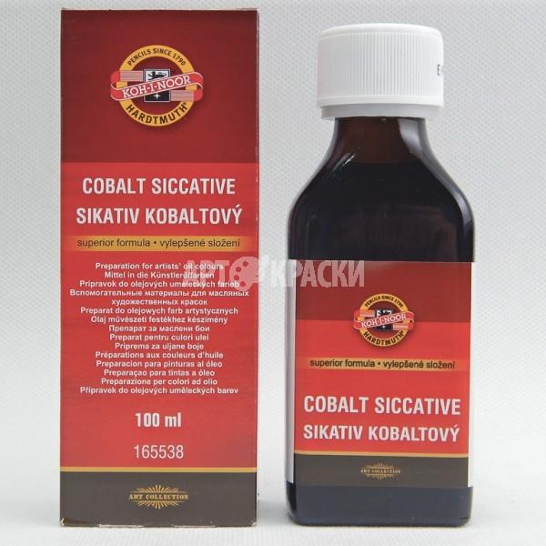 Сиккатив кобальтовый Koh-I-Noor 165538 100мл для масляных красок