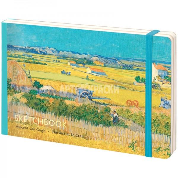 "Скетчбук для рисования Greenwich Line ""Van Gogh"" А5 14х21см 80 листов"