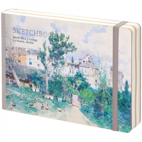 "Скетчбук для рисования Greenwich Line ""Art Zone"" 12х18 см 80 листов"