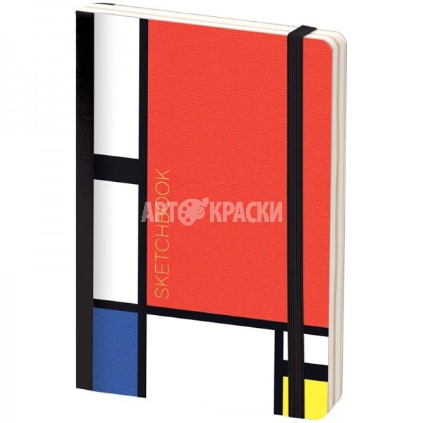 "Скетчбук для рисования Greenwich Line ""Mondrian"" 12х18 см 80 листов"