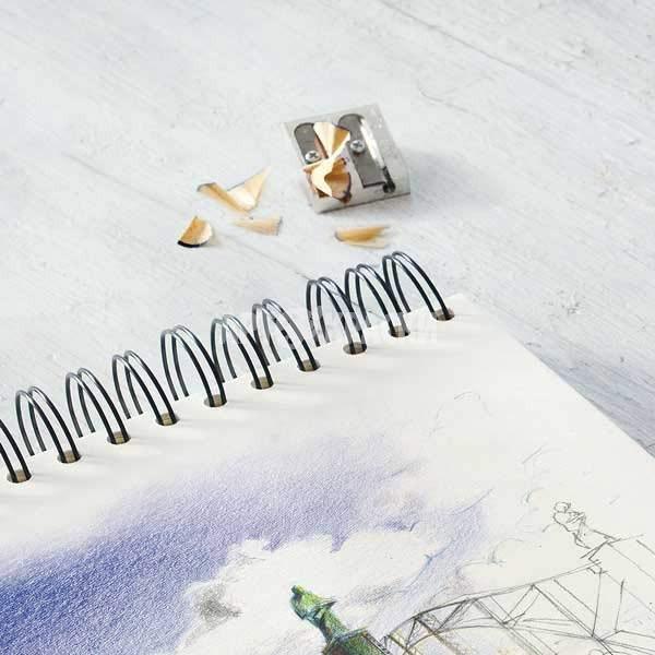 "Точилка металлическая ""Faber-Castell"" 5034 двойная"