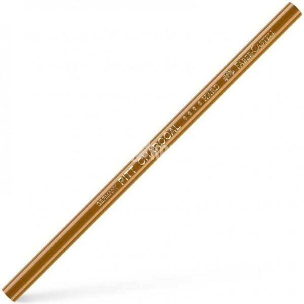 """Угольный карандаш Faber-Castell """"Pitt"""" прессованный твердый"""