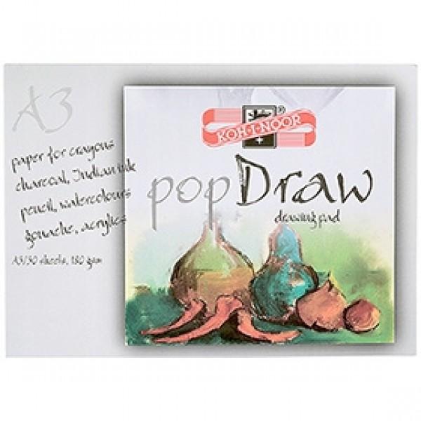 """Альбом для рисования Koh-I-Noor """"Pop Draw"""" А3 30 листов"""