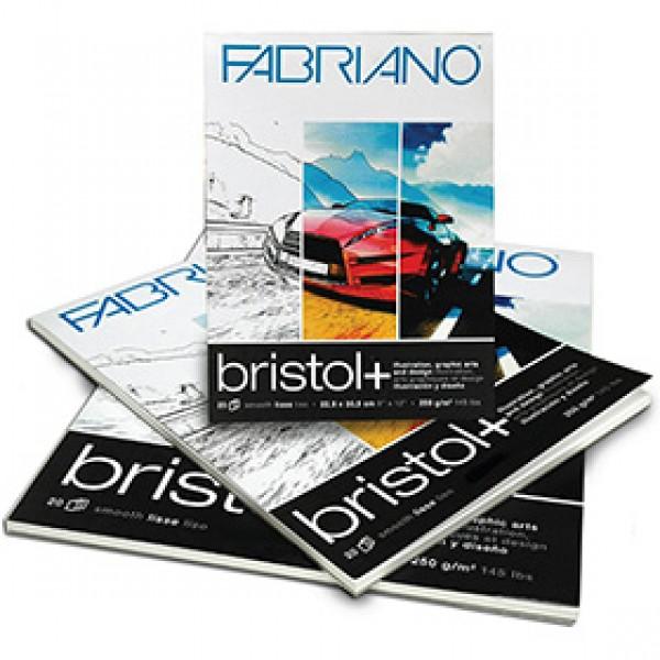 """Блок бумаги Fabriano """"Bristol"""" A4 для маркеров и графических работ 20 листов"""